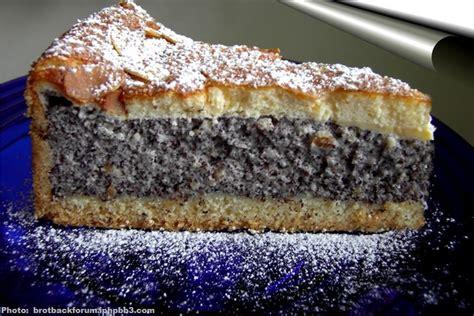 recette de cuisine allemande tarte au pavot la mohntorte recette allemande