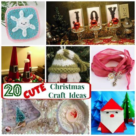 20 cute christmas craft ideas allfreeholidaycrafts com