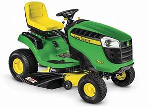 D125 Lawn Tractor - New 100 Series