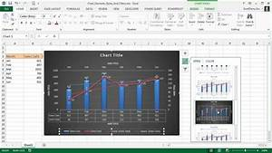 Modern Charts And Graphs Using Chart Elements Chart Styles Chart Filters New