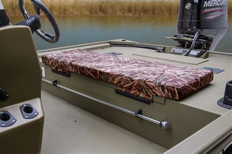 Aluminum Boat Bench Seat Pads by Tracker Boats All Welded Jon Boats 2014 Grizzly 2072