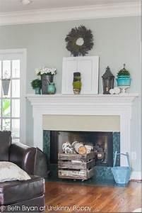 Spring mantel Decorating and a Fireplace WWYD - Unskinny Boppy
