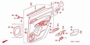 Rear Door Lining For Honda Cars Civic 1 8 Ex 5 Doors