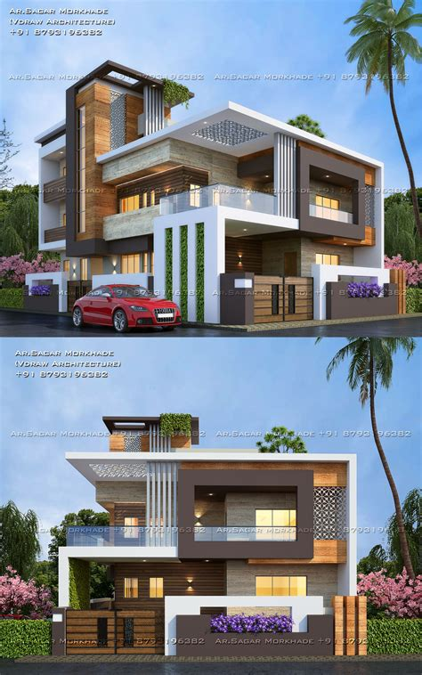 #Modern #Residential #House #bungalow #Exterior By Ar