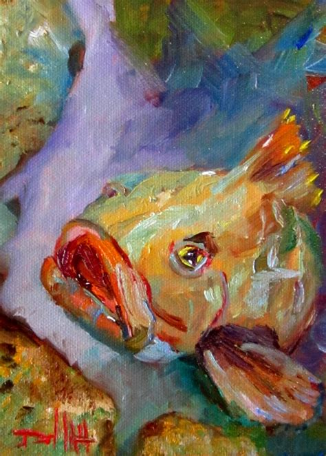 grouper painting delilah paintings daily
