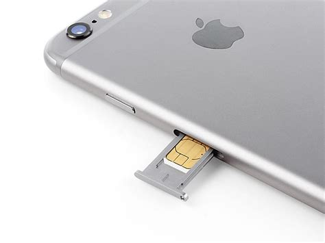 sim card for iphone 6 iphone 6 sim card tray