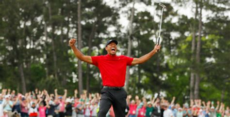 Tiger Woods' Wins His First Masters In 14 Years With His ...