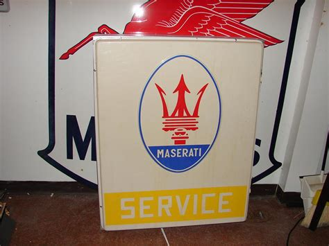 Very Desirable 1960s70s Maserati Service Singlesided