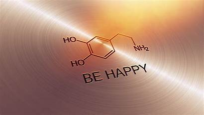 Happy Dopamine Wallpapers Feel Molecule Does Quote