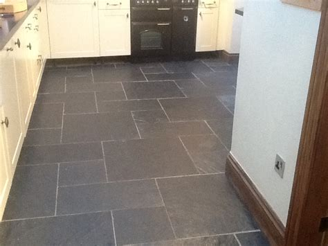 slate kitchen floors cleaning and sealing black slate floor in whilton 2305