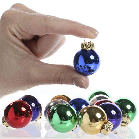 miniature glass ball ornaments christmas ornaments