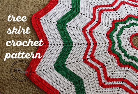 crochet tree skirt pattern free crochet pattern tree