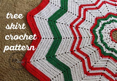 crochet tree skirt pattern free crochet pattern tree