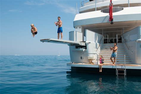 Sailboat Swim Platform by Swim Image Gallery Luxury Yacht Browser By