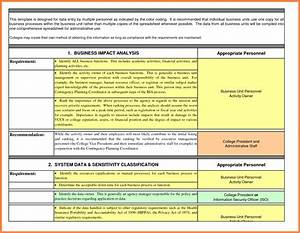 Analysis business impact analysis template with pictures for Privacy impact assessment template
