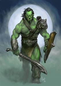 orc warrior image - Orc clan and Orks fantasy and monsters ...
