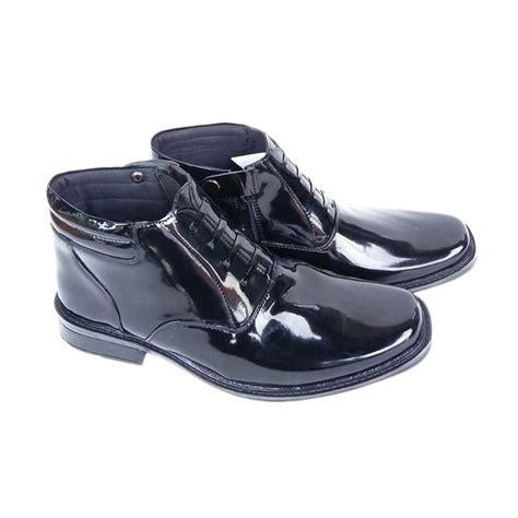 jual mandien s pdh r 03 polri tni kilap sepatu boots pria hitam harga kualitas