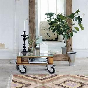 Table Basse En Bois Flotté : miroir sur pied bois flotte ~ Preciouscoupons.com Idées de Décoration