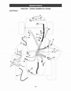 Craftsman 917276090 User Manual Garden Tractor Manuals And