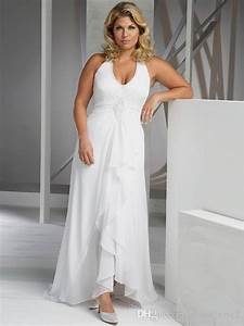 Wedding dresses 2018 best way to find thousand ideas for Beach plus size wedding dresses