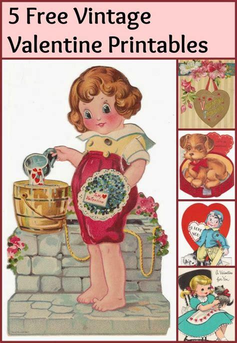 Vintage Valentines Printables 4 U | Vintage valentine ...