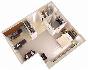 Large, Studio, Apartments, Downtown, Bethesda, Md
