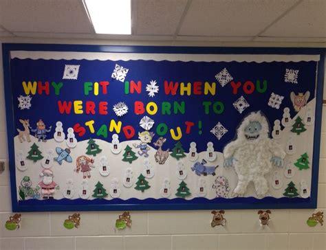christmas bulletin board island  misfit toys creating