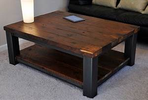 rustic wood coffee table legs ideas build rustic wood With how to make a rustic coffee table