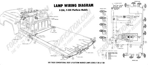 1979 Ford F 250 Light Wiring by Ford Truck Technical Drawings And Schematics Section H