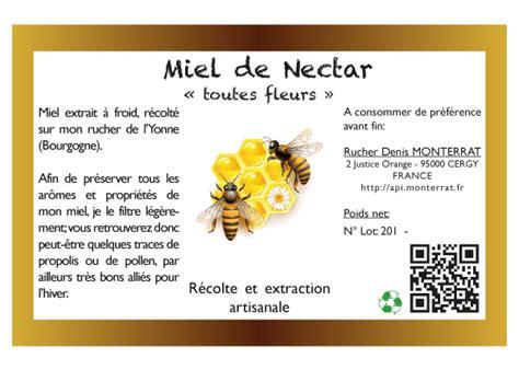 etiquette pour pot de miel etiquettes miel artesio informatique cergy val d oise 95 78 93 92 75