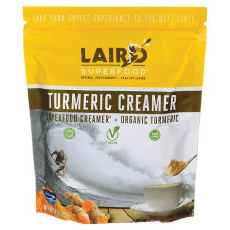 Mix the ingredients in a bowl and store in an air tight glass container. Laird Superfood Turmeric Creamer 8 oz (227 grams) Pwdr   Superfood, Turmeric, Turmeric tea