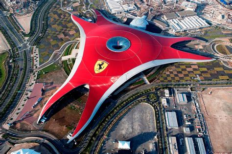 Ferrari World, A Tourist Spot For Fans Of The Prancing