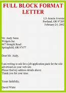 Job Application Letter In Full Block Format Full Block Style Business Letter Of Complaint Cover Letter Example The Differences Between The Block And Modified Block Style Letters Modified Semi Block Business Letter Sample Cover Letter Templates