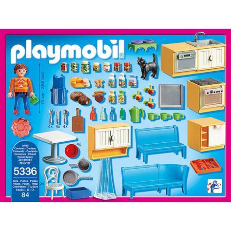 cuisine avec coin repas playmobil dollhouse 5336 la