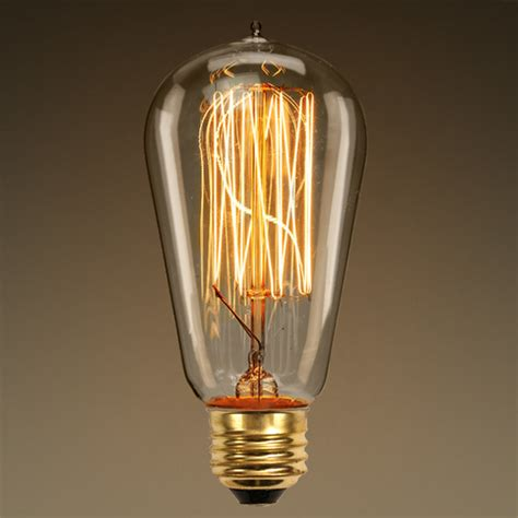 edison light bulb 60 watt vintage antique light bulb a19