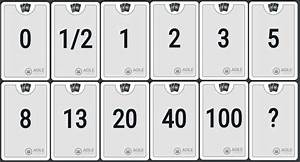 planning poker cards scrumdesk With planning poker cards template