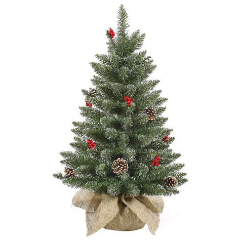 Small And Cheerful Tabletop Christmas Trees