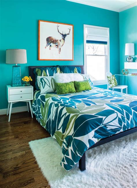 Turquoise Bedroom Decor by Turquoise Room Ideas And Inspiration To Brighten Up Your