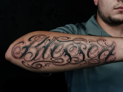 blessed tattoos designs ideas  meaning tattoos