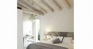Peindre Un Mur Deja Peint Sans Poncer : 10 d co chambres avec poutres apparentes very charmantes ~ Dailycaller-alerts.com Idées de Décoration