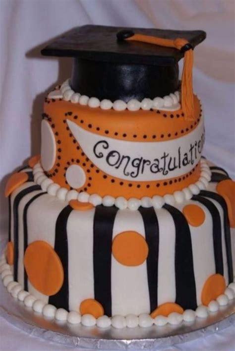 simple  creative graduation cakes  cupcakes
