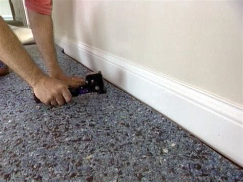 installing carpet with attached pad how to install wall to wall carpet yourself easy ideas for organizing and cleaning your home