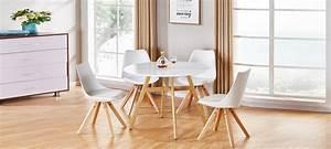 Table A Manger Ronde Blanche : offres discount tables manger ~ Teatrodelosmanantiales.com Idées de Décoration