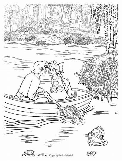 Kinkade Coloring Thomas Disney Pages Dreams Mermaid