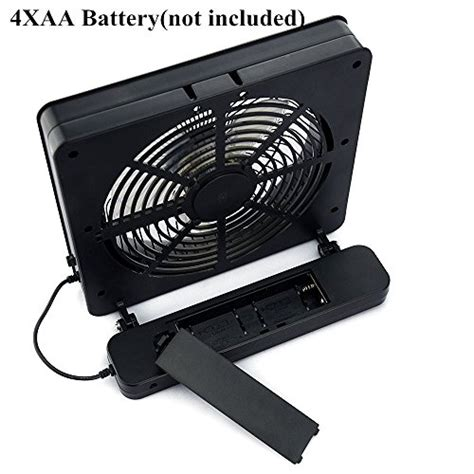 aa battery operated table fans etong 6 inch portable fan aa battery powered usb table