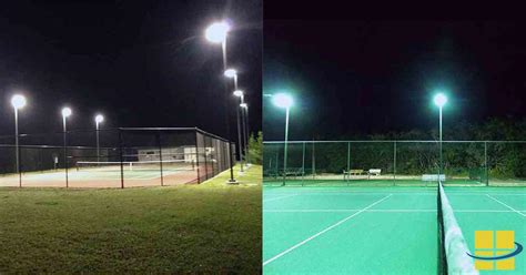 tennis court lighting led tennis court lights access
