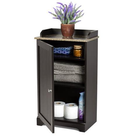 choice products bathroom floor storage cabinet