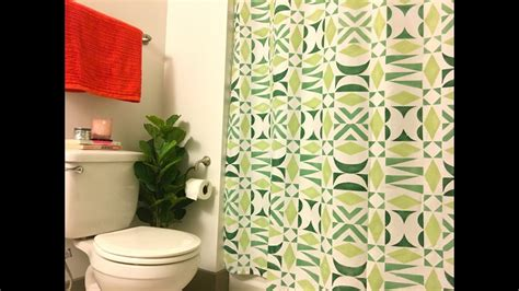 How To Make A Diy Shower Curtain With Diy Modern Tribal