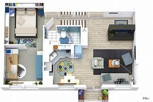 Haus Online Einrichten : roomsketcher wohnidee kleine wohnung mit stauraum ~ Lizthompson.info Haus und Dekorationen