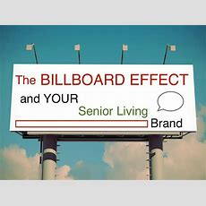The Billboard Effect, And What It Means For Your Senior